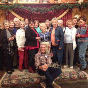 Singles Group Photo Rockin R Ranch